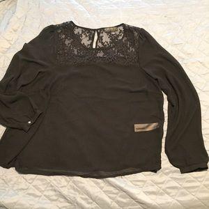 Forever 21 sheer blouse